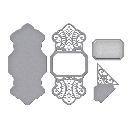 S5-426 Spellbinders SPLENDID TRILLIANT Etched Dies  Preview Image