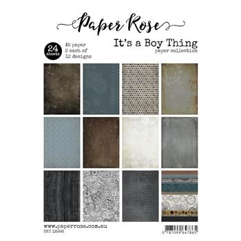 Paper Rose IT'S A BOY THING Paper Pack 18996