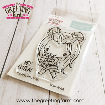 The Greeting Farm BOBA ANYA Clear Stamps tgf548 zoom image