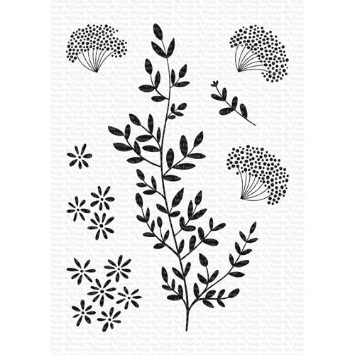 My Favorite Things DANDELION GREETINGS Clear Stamps cs474 Preview Image