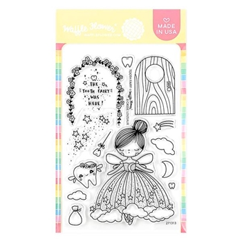 Waffle Flower TOOTH FAIRY Clear Stamps 271313
