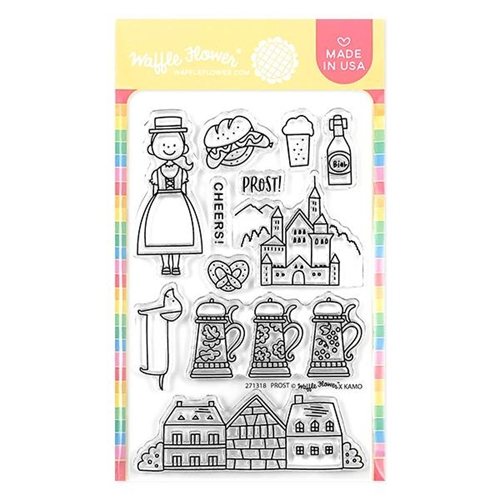 Waffle Flower PROST GERMANY Clear Stamps 271318* Preview Image