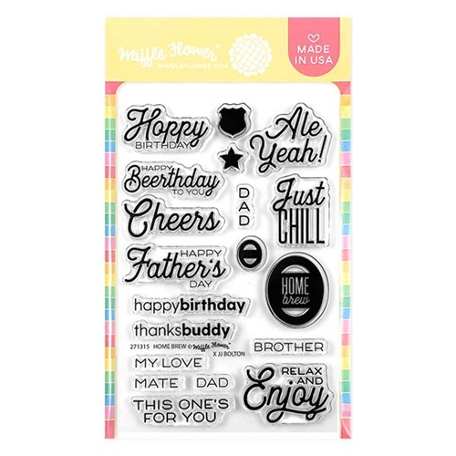 Waffle Flower HOME BREW Clear Stamps 271315 Preview Image