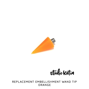 Studio Katia ORANGE Embellishment Wand Tip sk026