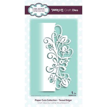 Creative Expressions TEASEL EDGER Paper Cuts Collection Dies cedpc1121