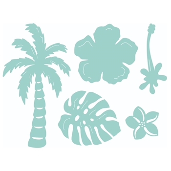 Kaisercraft TROPICAL Decorative DIY Die Cuts dd653