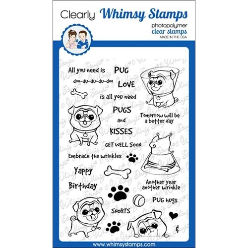 Whimsy Stamps WRINKLES Clear Stamps CWSD312 Preview Image