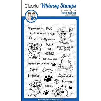 Whimsy Stamps WRINKLES Clear Stamps CWSD312