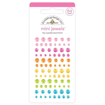 Doodlebug HEY CUPCAKE Mini Jewels Assortment 6726