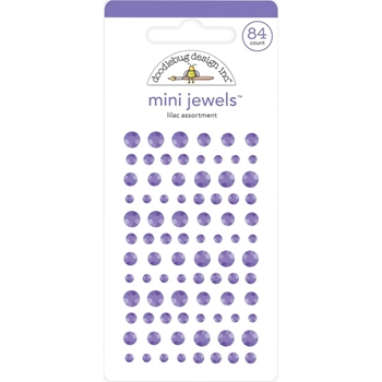 Doodlebug LILAC Mini Jewels 6722