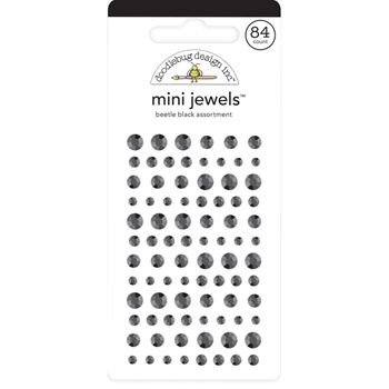 Doodlebug BEETLE BLACK Mini Jewels 6725