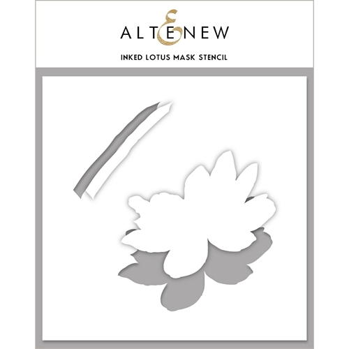 Altenew INKED LOTUS Mask Stencil ALT4126 Preview Image