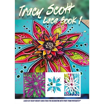 Paper Artsy TRACY SCOTT LACE BOOKLET tslb01*