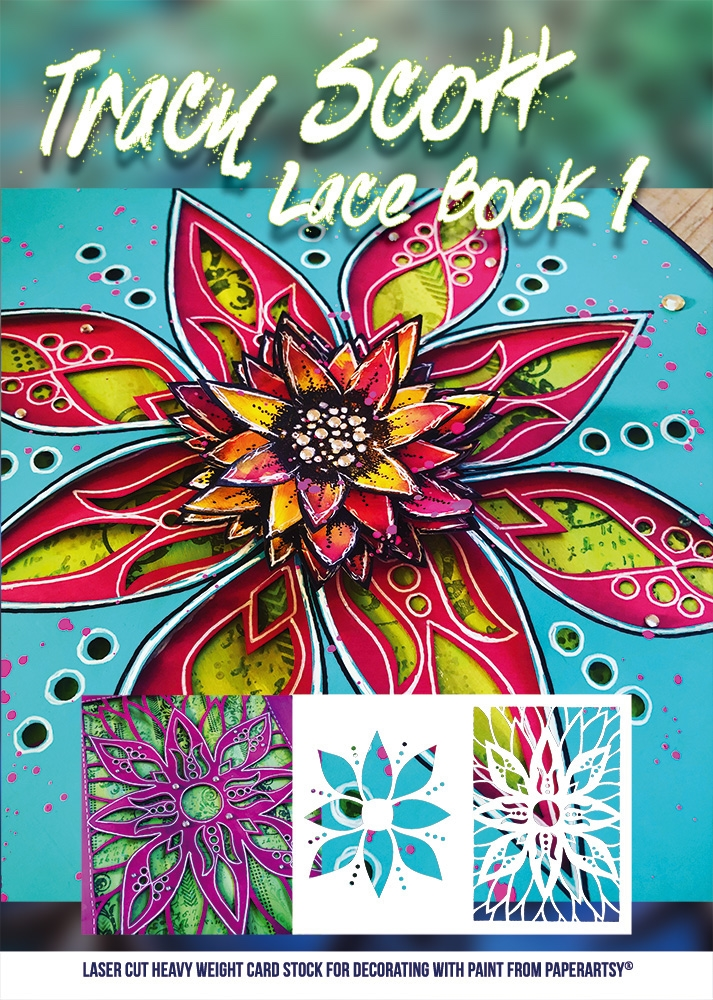 Paper Artsy TRACY SCOTT LACE BOOKLET tslb01 zoom image