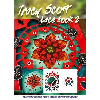 Paper Artsy TRACY SCOTT LACE BOOKLET 2 tslb02*