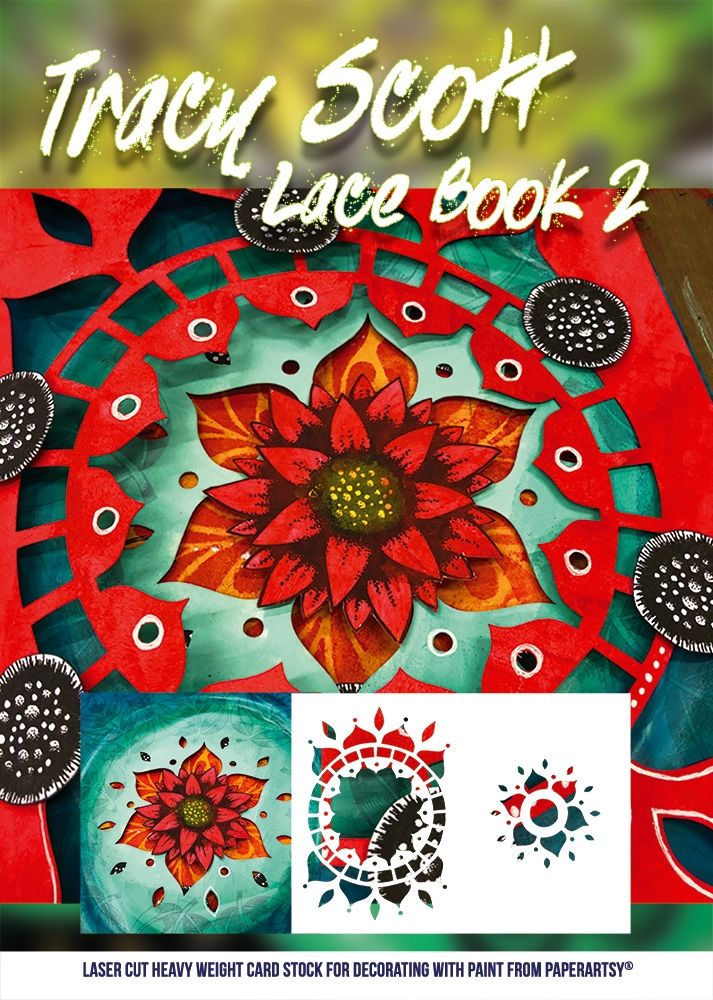 Paper Artsy TRACY SCOTT LACE BOOKLET 2 tslb02 zoom image