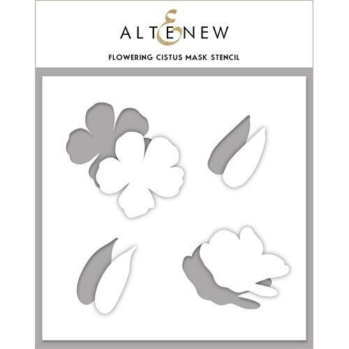 Altenew FLOWERING CISTUS Mask Stencil ALT4121 Preview Image