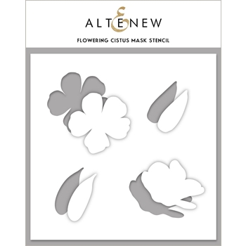 Altenew FLOWERING CISTUS Mask Stencil ALT4121