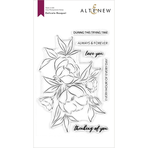 Altenew DELICATE BOUQUET Clear Stamps ALT4118 Preview Image