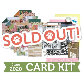 Simon Says Stamp Card Kit of the Month June 2020 BEAUTIFUL BUTTERFLIES ck0620