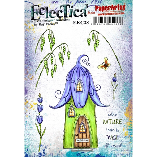 Paper Artsy ECLECTICA3 KAY CARLEY 38 Cling Stamp ekc38 Preview Image