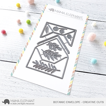 Mama Elephant BOTANIC ENVELOPE Creative Cuts Steel Dies