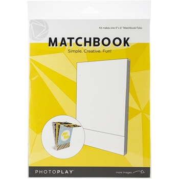 PhotoPlay WHITE MATCHBOOK Maker's Series ppp9452