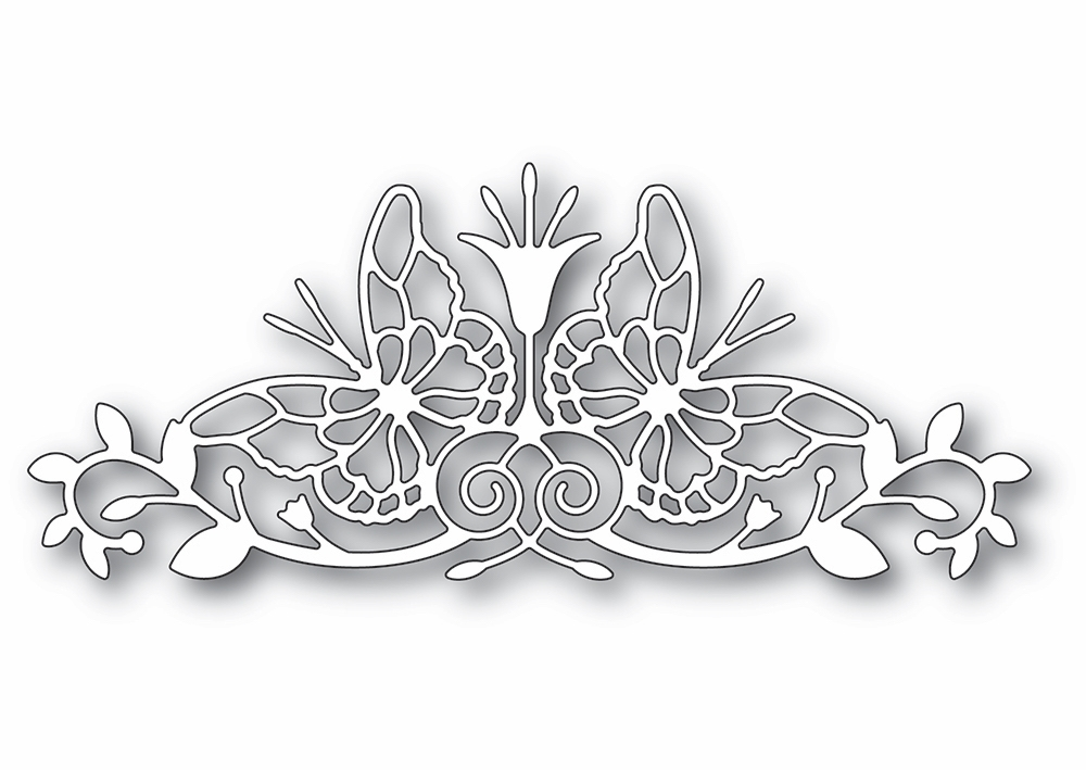 Memory Box SOFIA BUTTERFLY BORDER Craft Die 94413 zoom image
