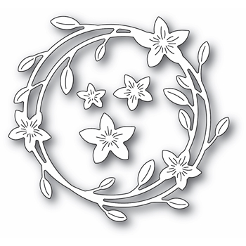 Memory Box MAGNOLIA WREATH Craft Dies 94419