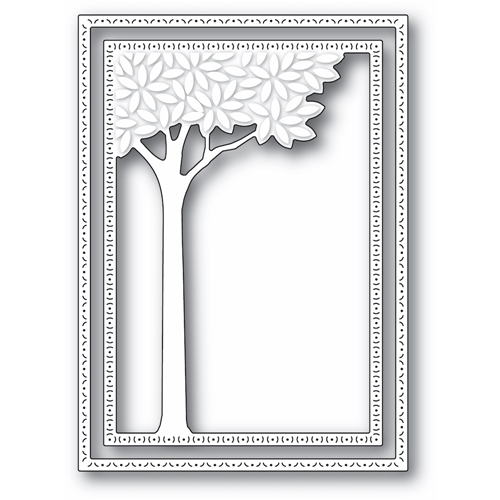 Memory Box LEAFY TREE FRAME Craft Dies 94420 Preview Image