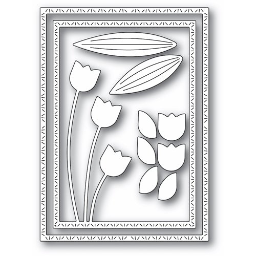 Memory Box TULIP TRIO FRAME Craft Dies 94440 Preview Image