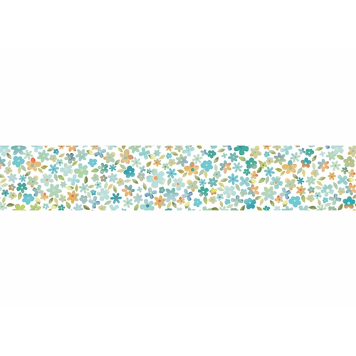 Memory Box CORNELIA AQUA 1 inch Washi Tape wt509 Preview Image