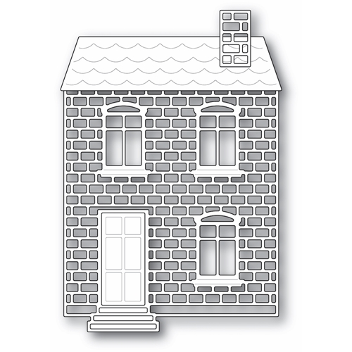 Poppy Stamps PROPER BRICK HOUSE Craft Dies 2317 Preview Image