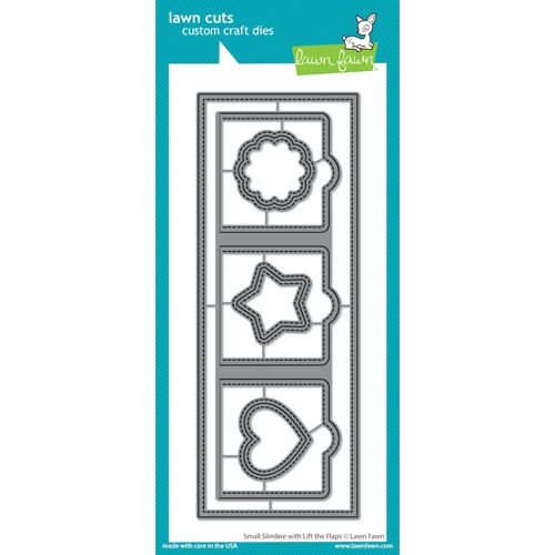 Lawn Fawn SMALL SLIMLINE WITH LIFT THE FLAPS Die Cuts lf2358 Preview Image