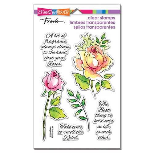 Stampendous Clear Stamps FRAGRANT ROSE ssc2008 Preview Image