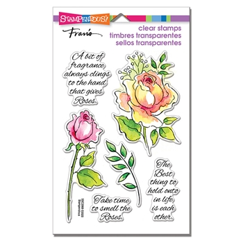 Stampendous Clear Stamps FRAGRANT ROSE ssc2008
