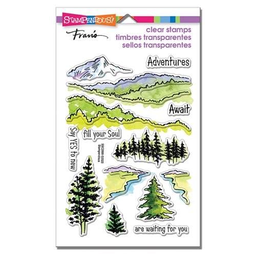 Stampendous Clear Stamps ADVENTURE AWAITS ssc2009 Preview Image