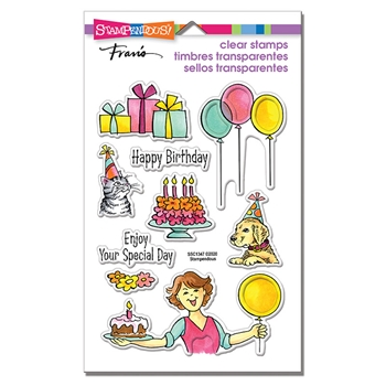 Stampendous Clear Stamps BIRTHDAY GIFT ssc1347