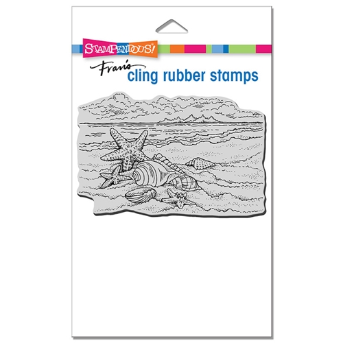 Stampendous Cling Stamp SEASIDE SHELLS crp353 Preview Image