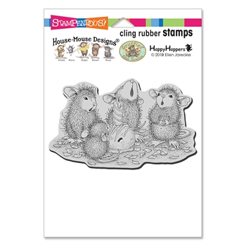 Stampendous Cling Stamp BON BON BIRTHDAY hmcp120 House Mouse