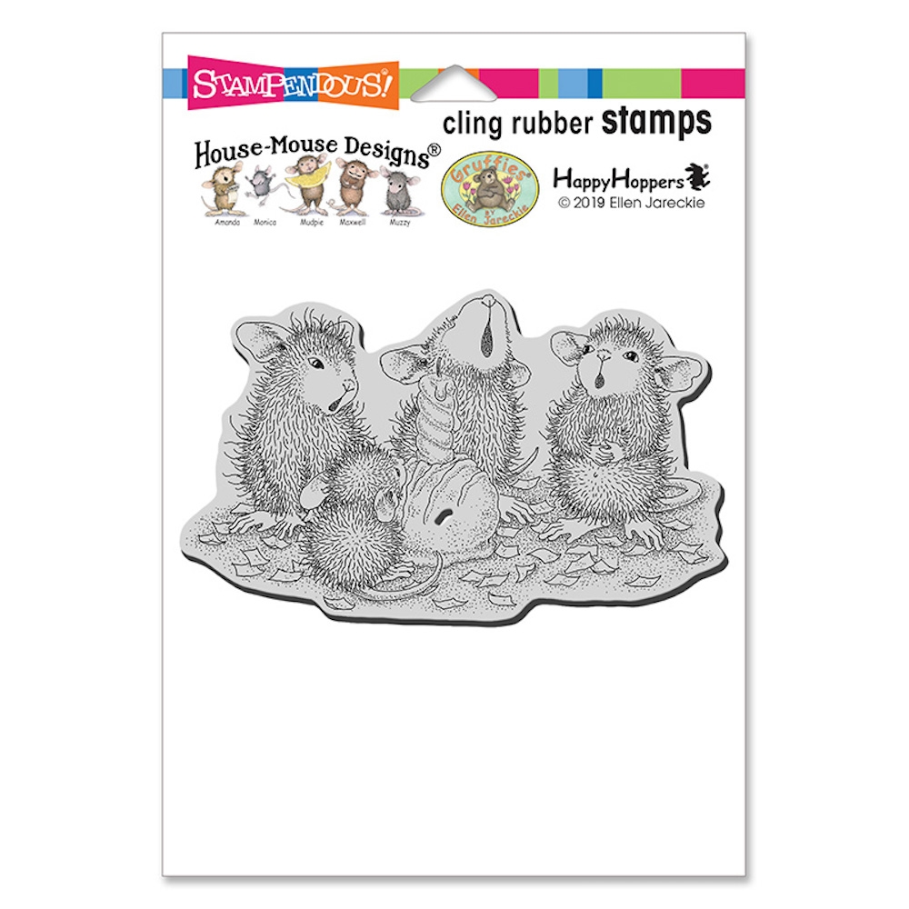 Stampendous Cling Stamp BON BON BIRTHDAY hmcp120 House Mouse zoom image
