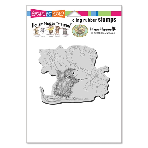House Mouse Sparkler Art Cling Stamp