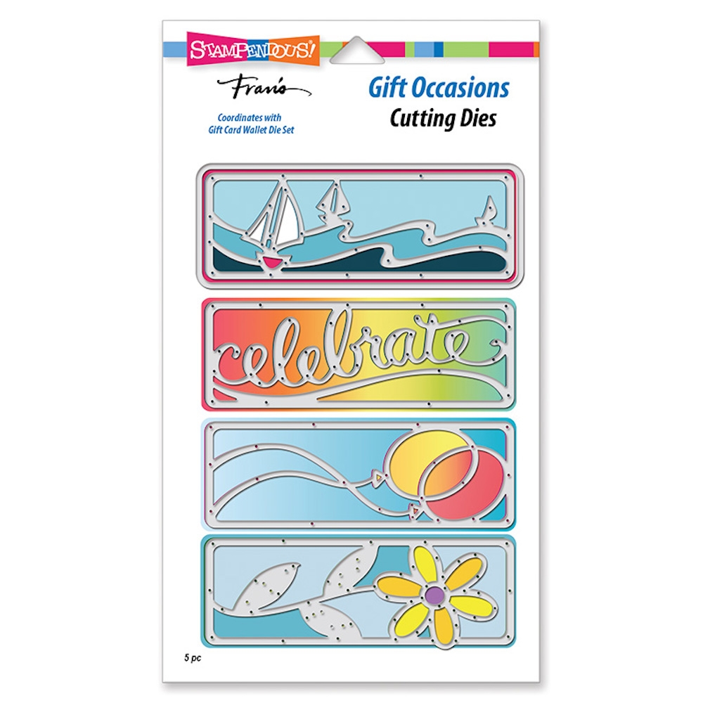 Stampendous GIFT OCCASIONS Die Set dcp1016 zoom image
