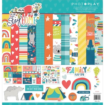 PhotoPlay WE CAN JUST STAY HOME 12 x 12 Collection Pack wcs2271