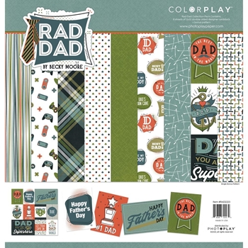 PhotoPlay RAD DAD 12 x 12 Collection Pack ColorPlay rad2223