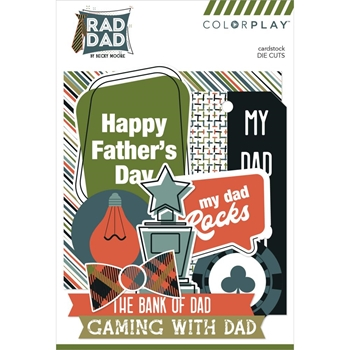 PhotoPlay RAD DAD Ephemera ColorPlay rad2228