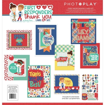 PhotoPlay FIRST RESPONDERS THANK YOU Card Kit fir2283