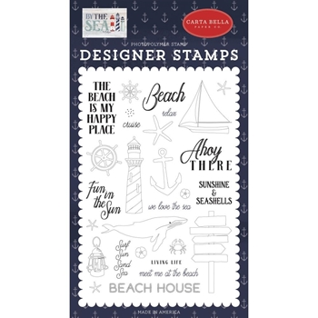 Carta Bella AHOY THERE Clear Stamps cbbs120040