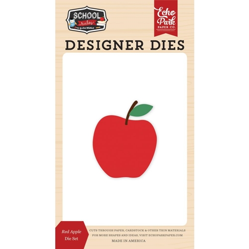 Echo Park RED APPLE Die Set scr215040 Preview Image