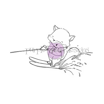 Purple Onion Designs GLADYS Cling Stamp pod1169